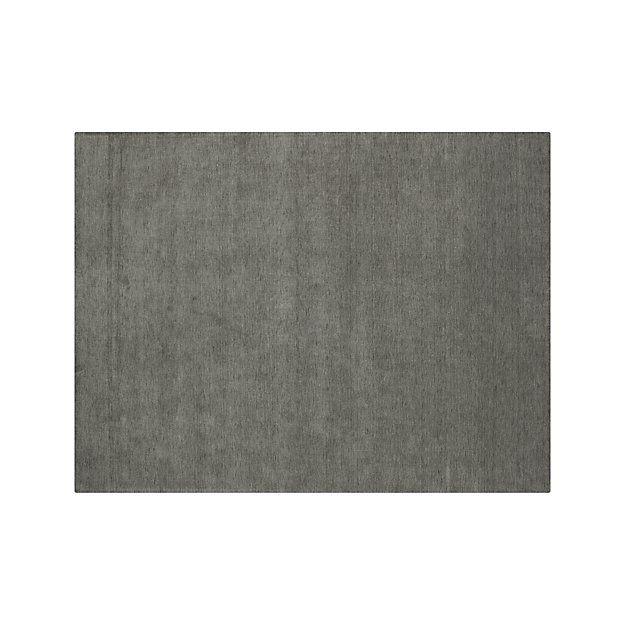 Baxter Grey Wool Rug Crate And Barrel Grey Wool Rugs Wool Rug Rugs