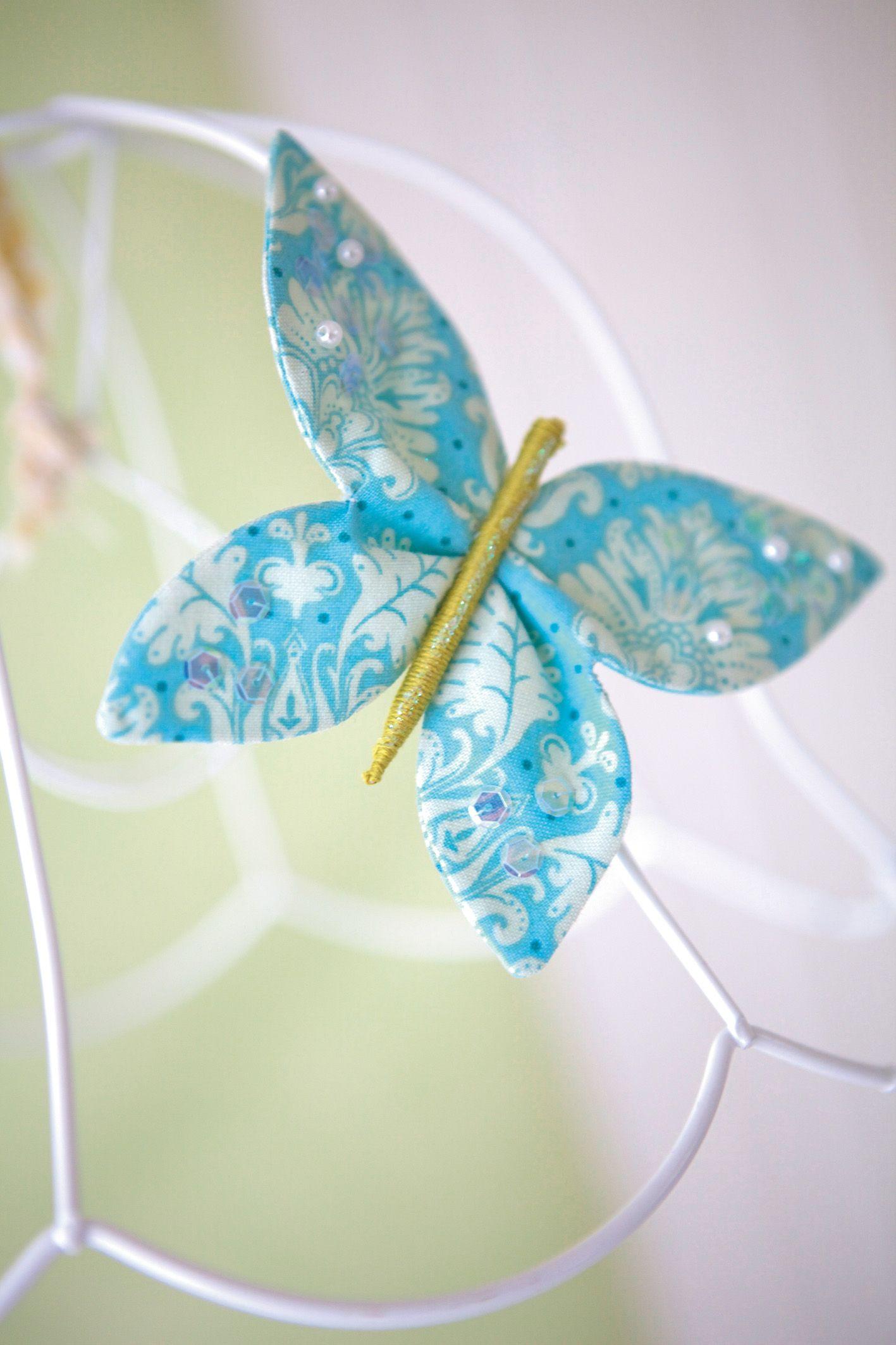 Gratis Schnittmuster für Schmetterlinge | Nähen für ...