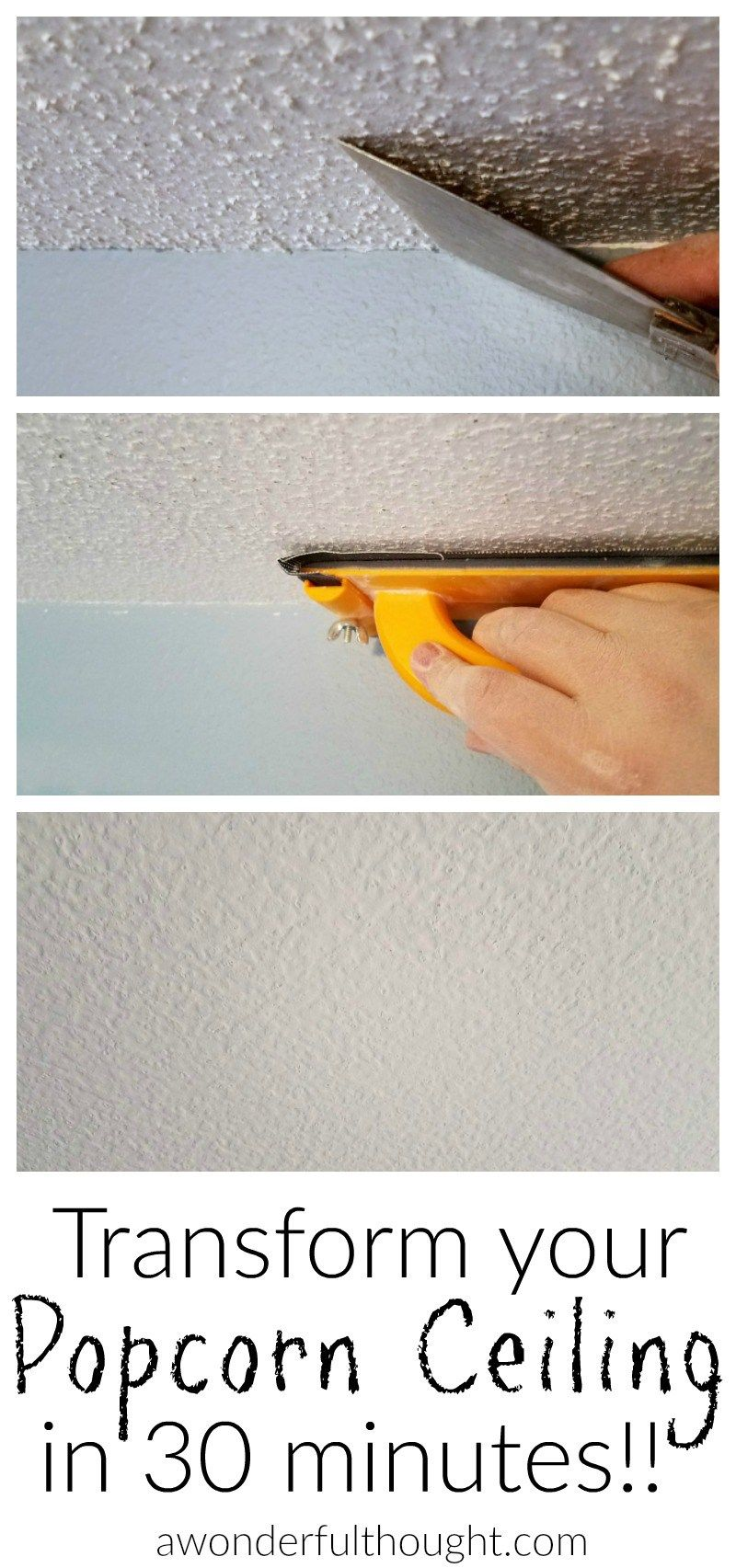 2 Ways To Remove Popcorn Ceilings Crafty 2 The Corediy Galore