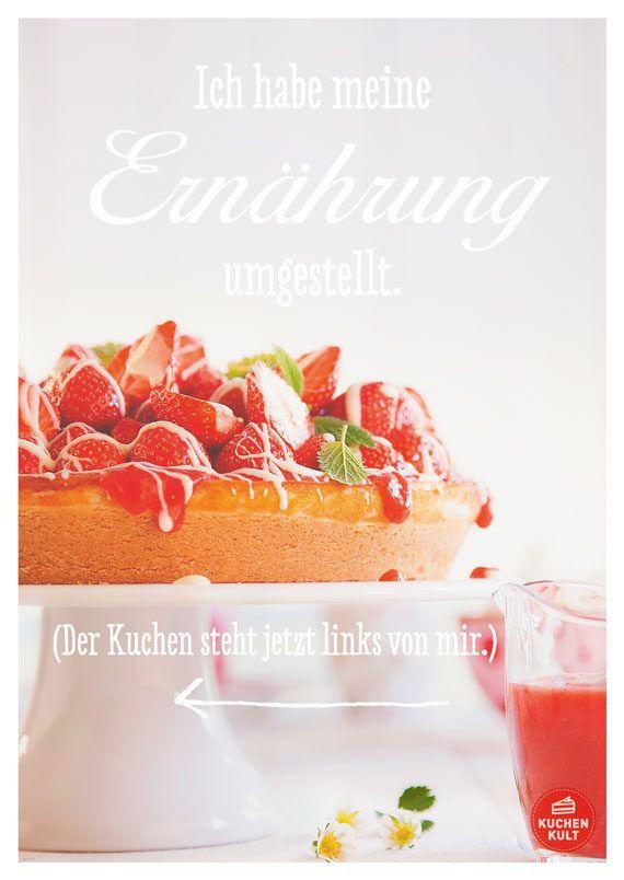 Die Schonsten Spruche Rund Um Den Kuchen Kuchenspruch Pinterest