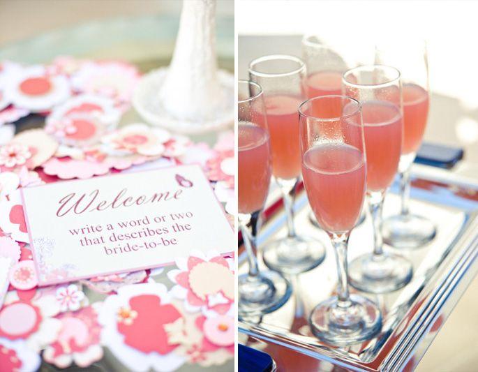 bridal shower cocktail ideas