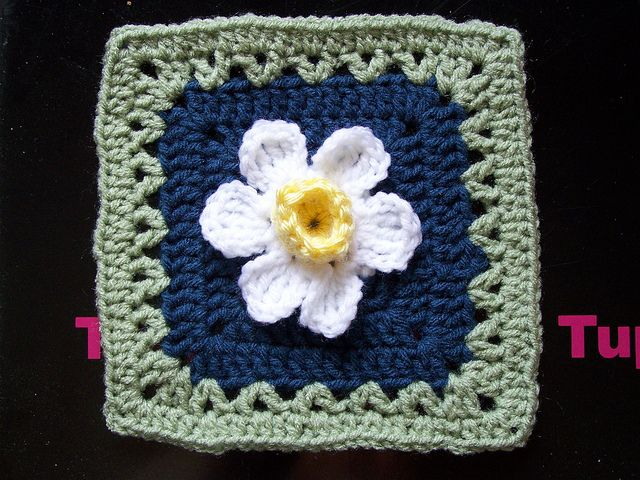 Ravelry: Daffodowndillies Square pattern by Linda N | mycrochet ...