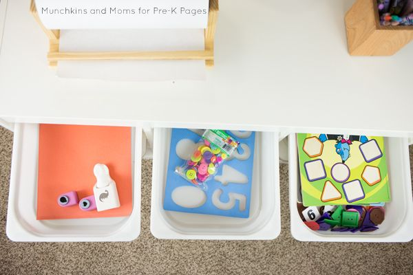 Morning Work Boxes for Preschool | Just fun | Morning work