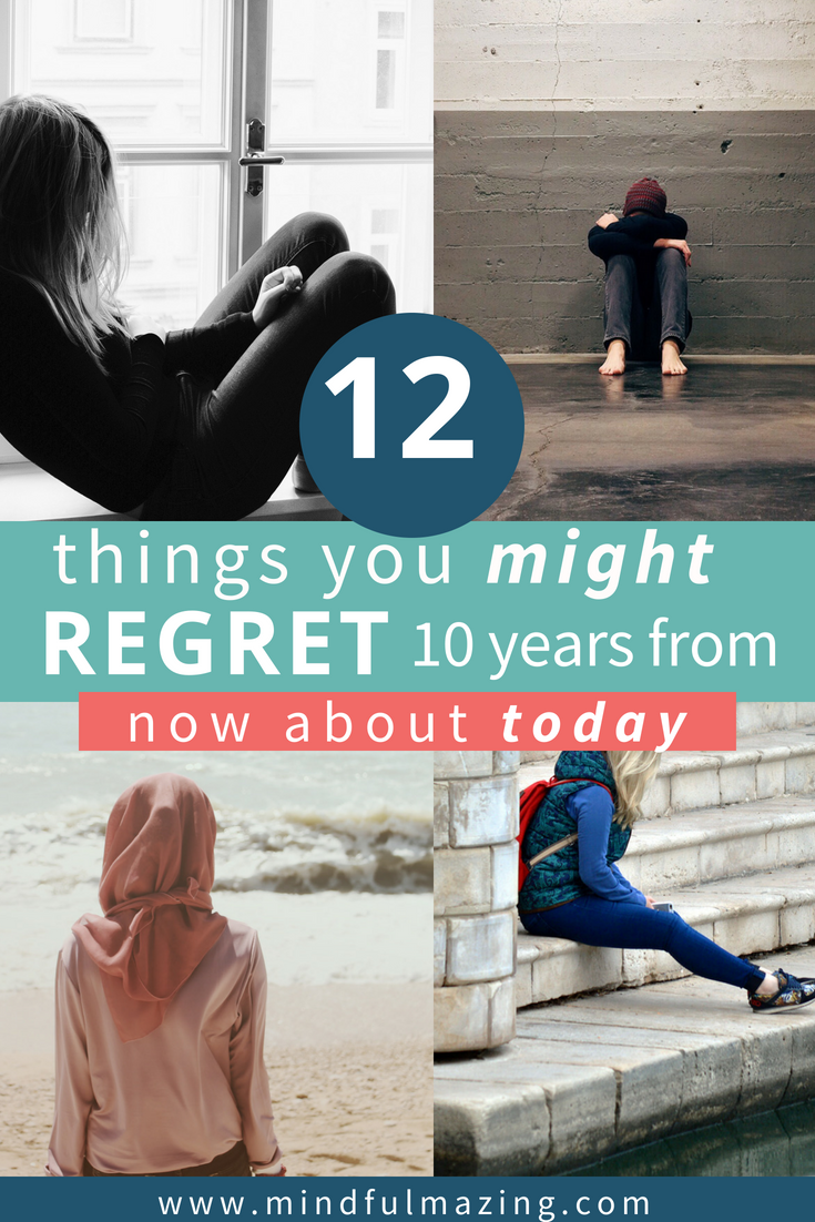 10 things that people most often regret