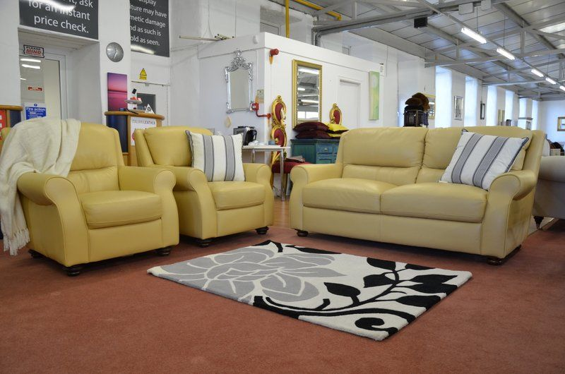 Armchairs Leather Sofas Suites Clic 3 Piece