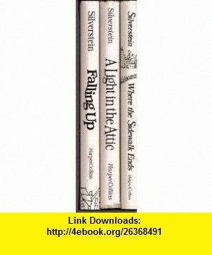 Silverstein Three Book Set Where The Sidewalk Ends A
