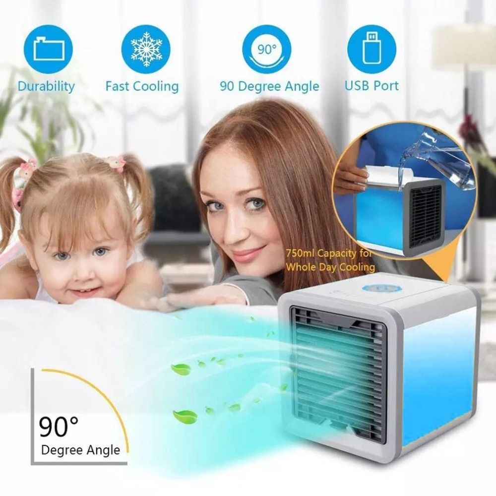 Portable Mini Air Conditioner Desktop air conditioner