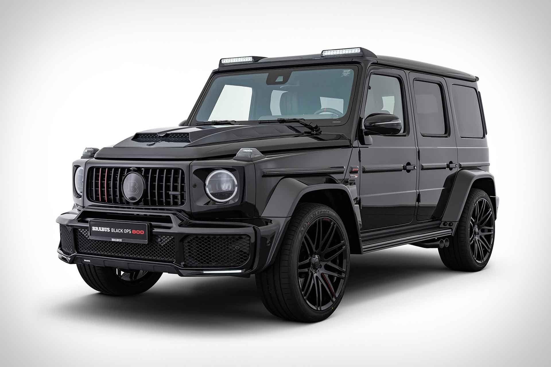 Brabus Black Ops 800 Suv Mercedes Amg Vehiculo De Lujo Clase G