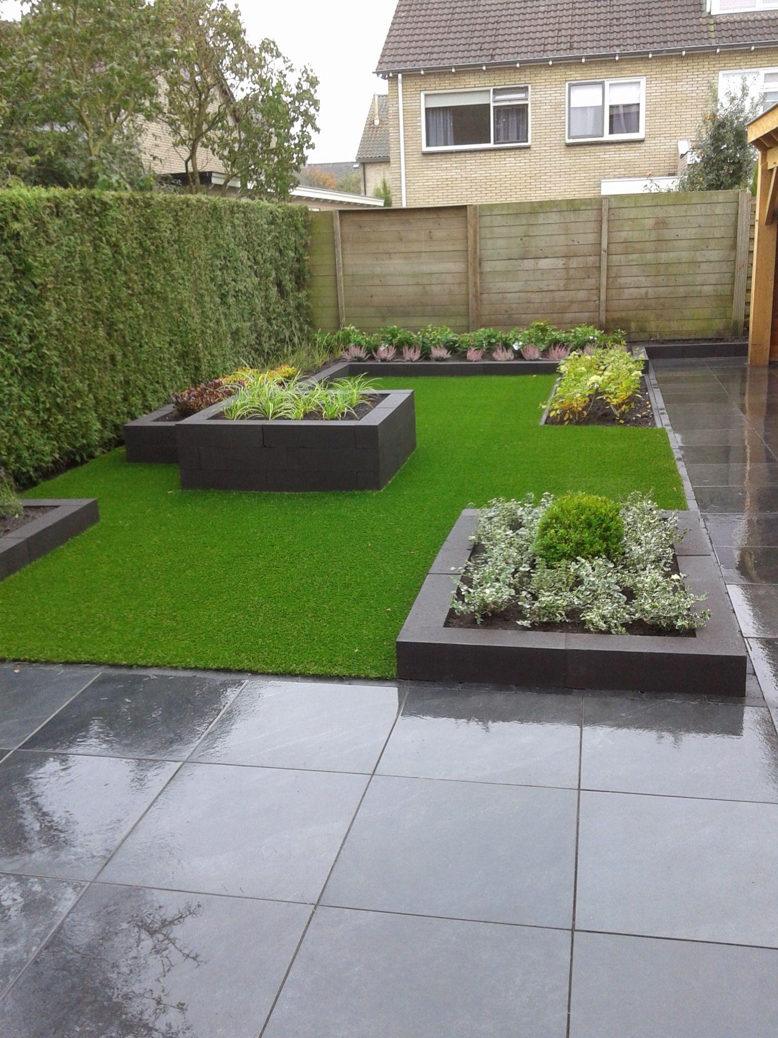 Balham London Tom Howard Gardens: Totaal Nieuwe Tuin Met Zeer Weinig Onderhoud En Een Mooie