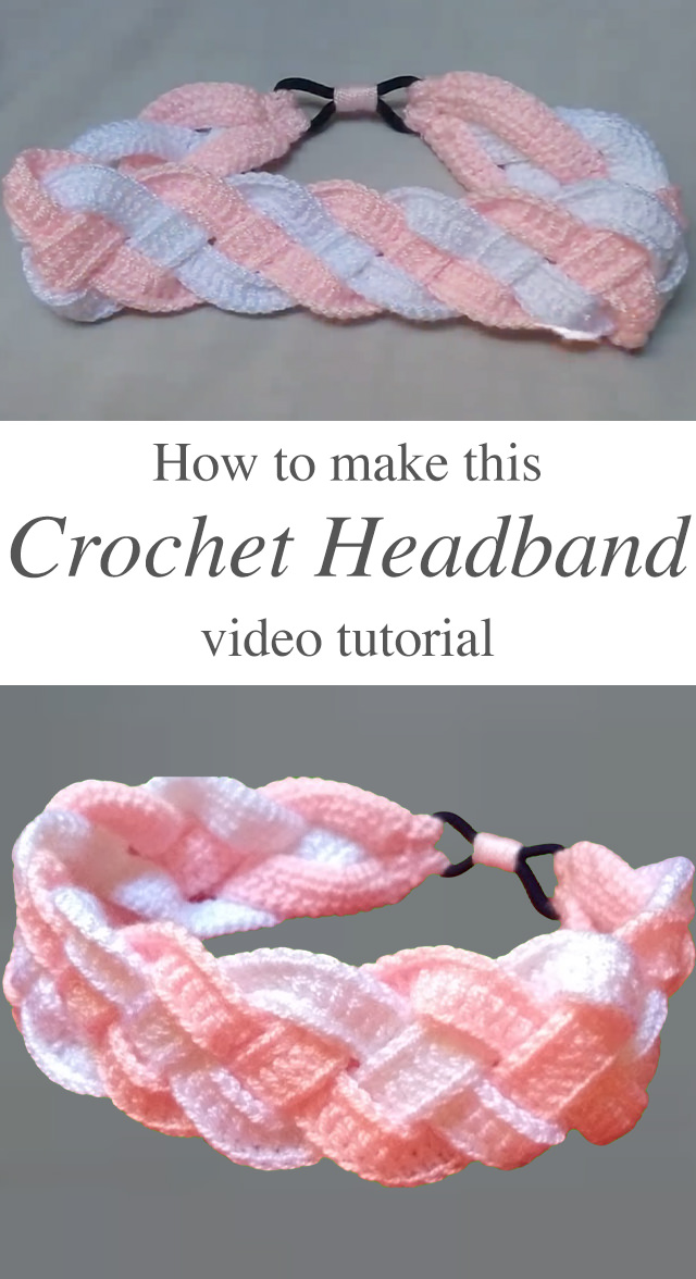 How To Crochet Headband | Crochet & Knit by Beja - Free Patterns, Videos + How To