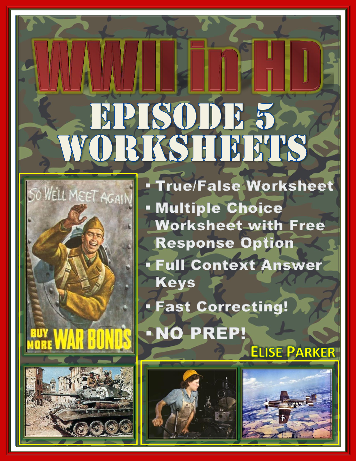 Wwii In Hd Worksheets Episode 5 Day Of Days