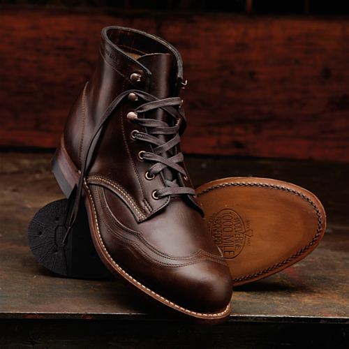 Wolverine 1000 Mile Wingtip Boots