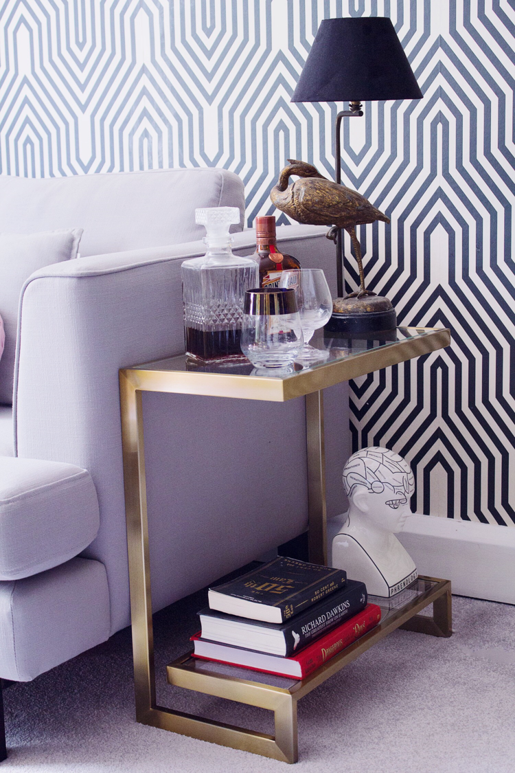 how to style your side table three different ways side table