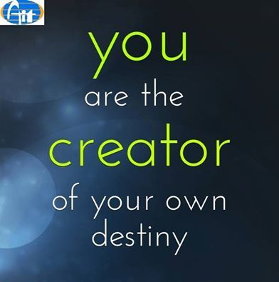 b92ab9859309c You are the creator your own destiny. See more - aiitech.com ...