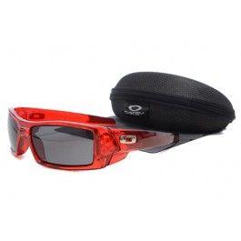 Óculos de sol Oakley Gascan Blood Red Quadro lente preta   Óculos de ... 19b2040f6f
