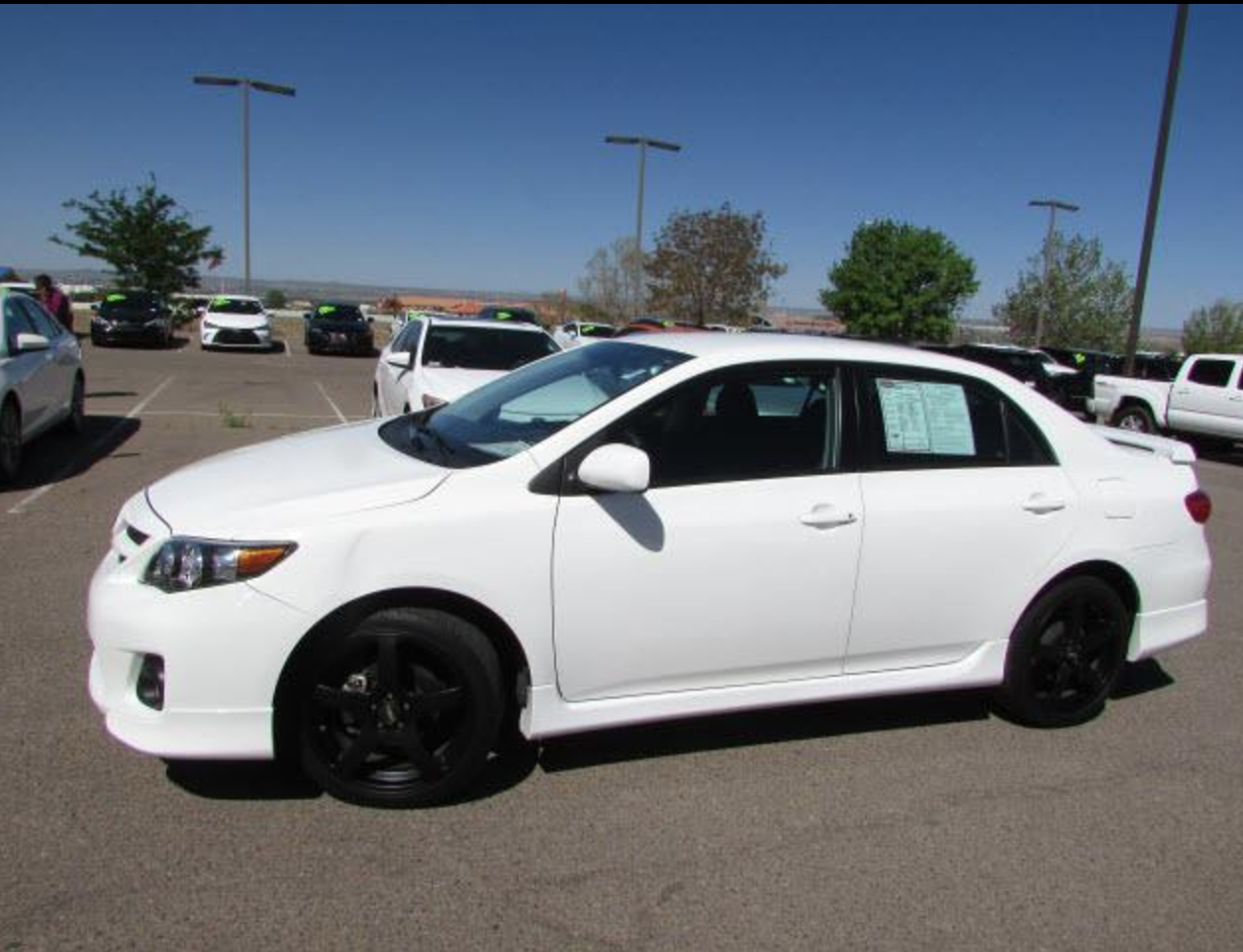 Turn Heads In This New To You 2013 Toyota Corolla Rims Included See The Deal Toyota Corolla Toyota Corolla