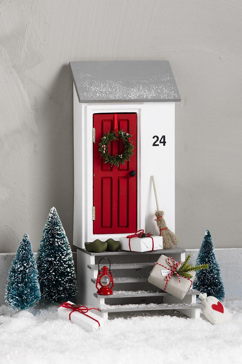 Weihnachtswichtel Haus No.6