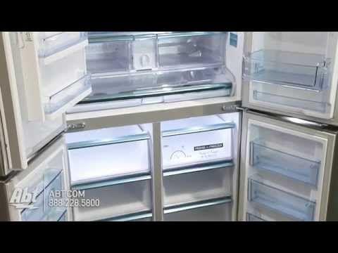 Kühlschrank French Door : Samsung 24 cu. ft. stainless steel counter depth french door bottom