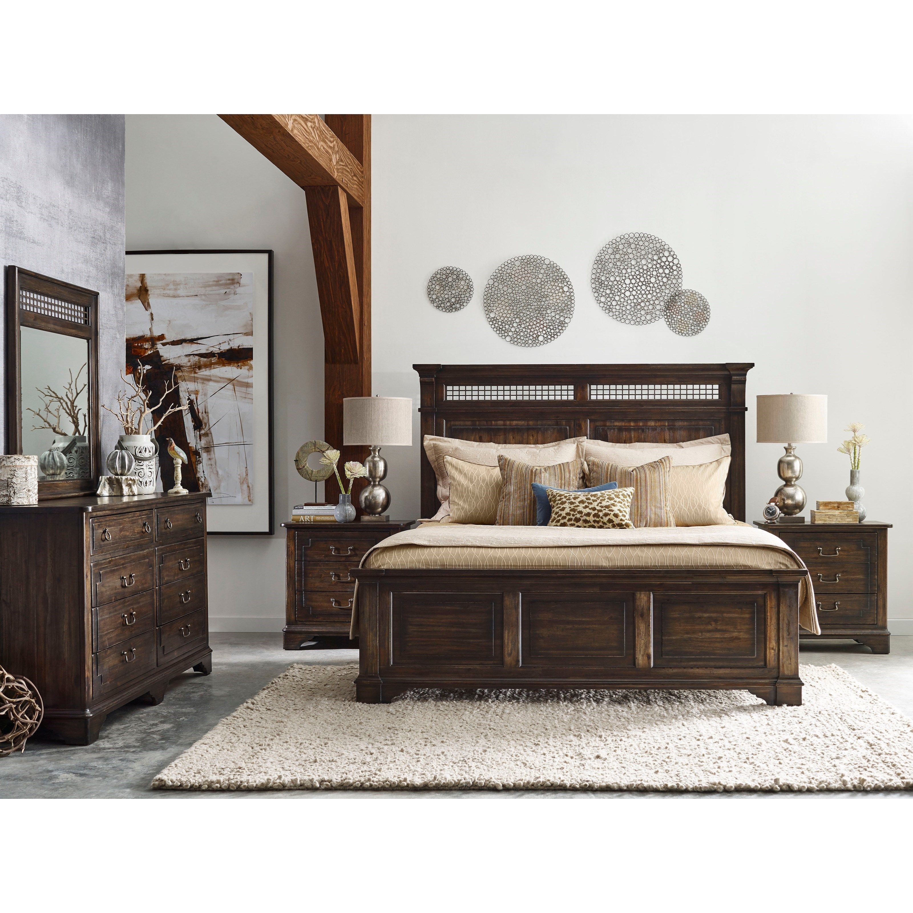 Wildfire King Bedroom Group by Kincaid Furniture at Johnny