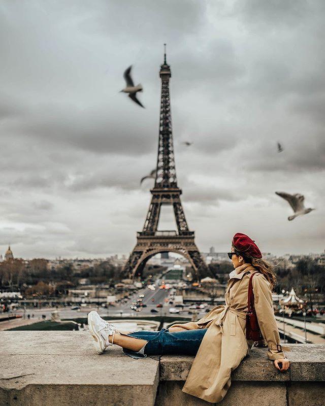 красивые виды парижа и парижанок фото часть