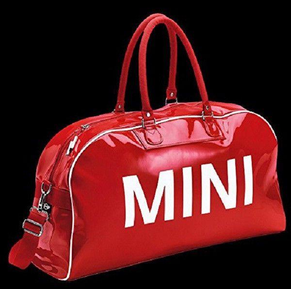 Mini Cooper Red Big Duffel Bag Shoulder Plastic New Oem 80222294747 In Ebay Motors Parts Amp Accessories Apparel Amp Merchandise Ebay Arabalar