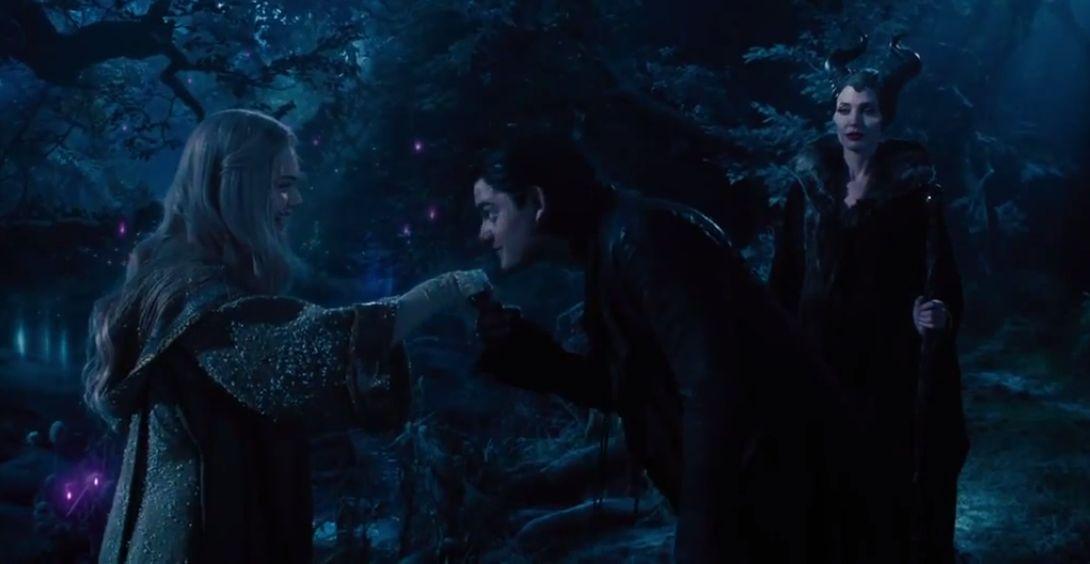 Maleficent Diaval And Aurora Best Scene In The Movie