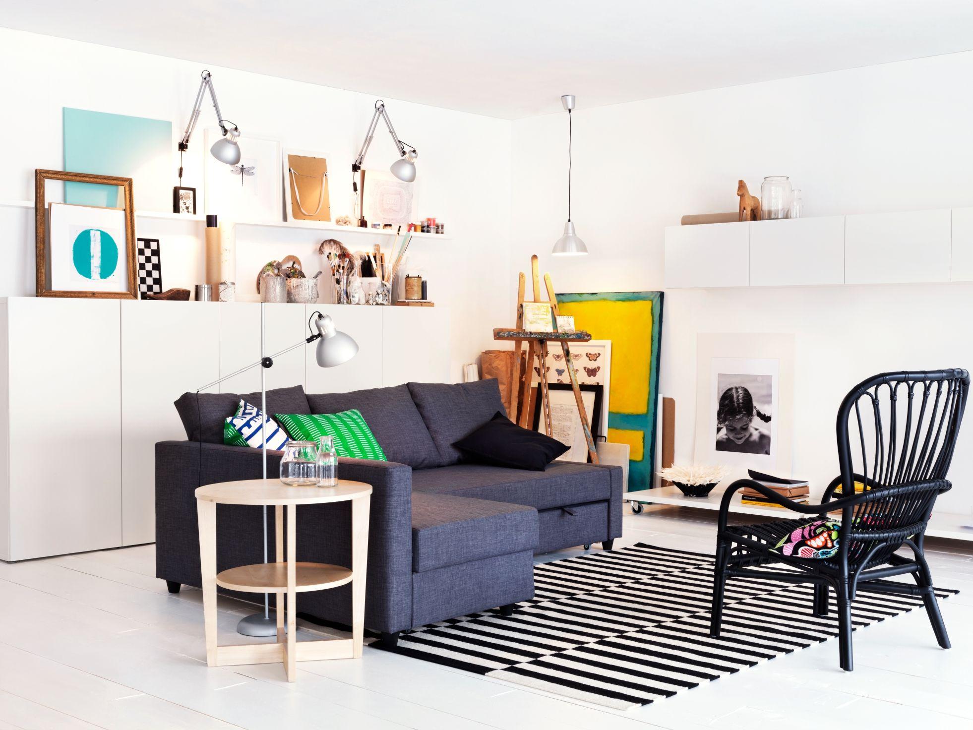 Ikea Slaapkamer Assortiment : Tover je woonkamer om in een slaapkamer met de friheten