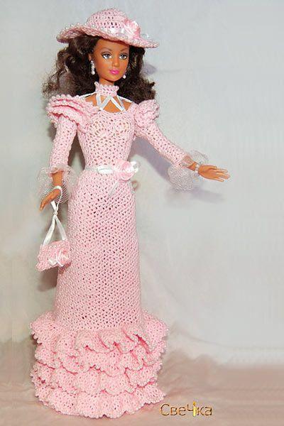 Pin Von Diana Castelijn Auf New Crochet Barbie Pinterest Häkeln
