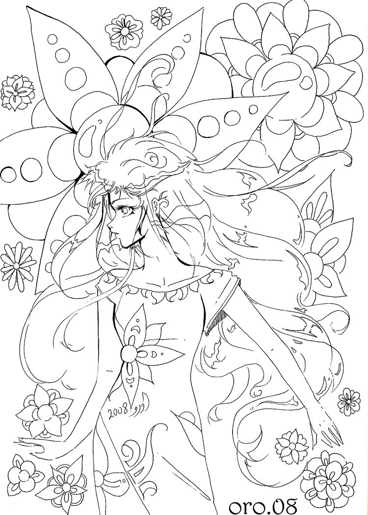 Emotion Coloring Pages | colouring page 5 FEELINGS by orjoowan-art ...