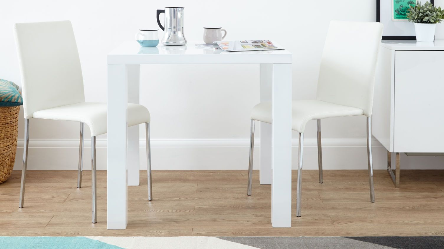 Small White Kitchen Table And Chairs Set | http://sodakaustica.com ...