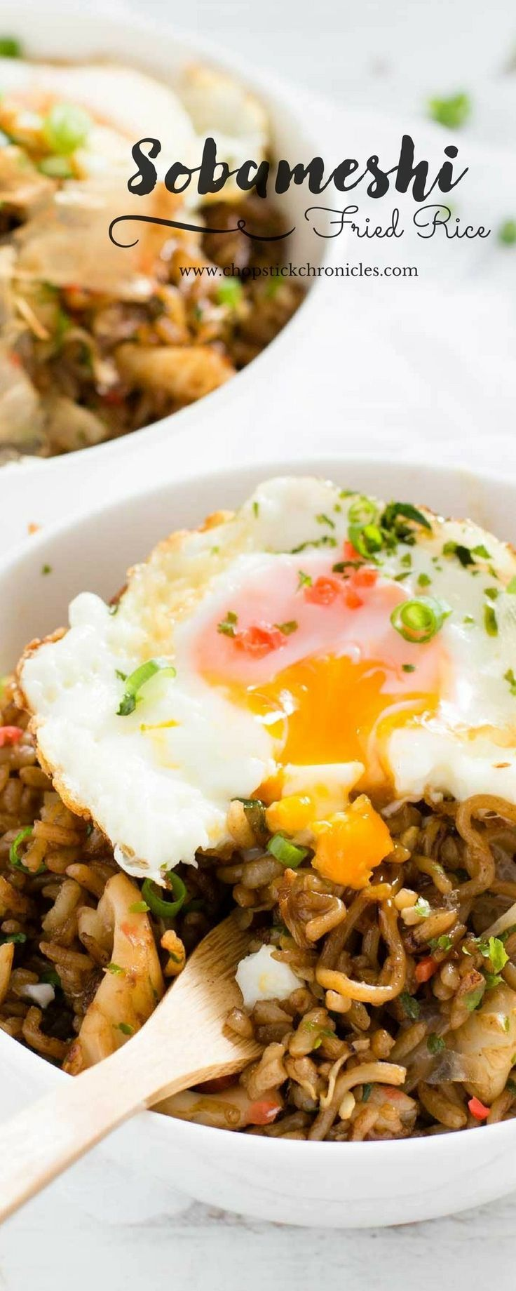 Sobameshi easy asian dinner recipes pinterest asian food and sobameshi is the ultimate japanese street food which yakisoba and yakimeshi combined forumfinder Images