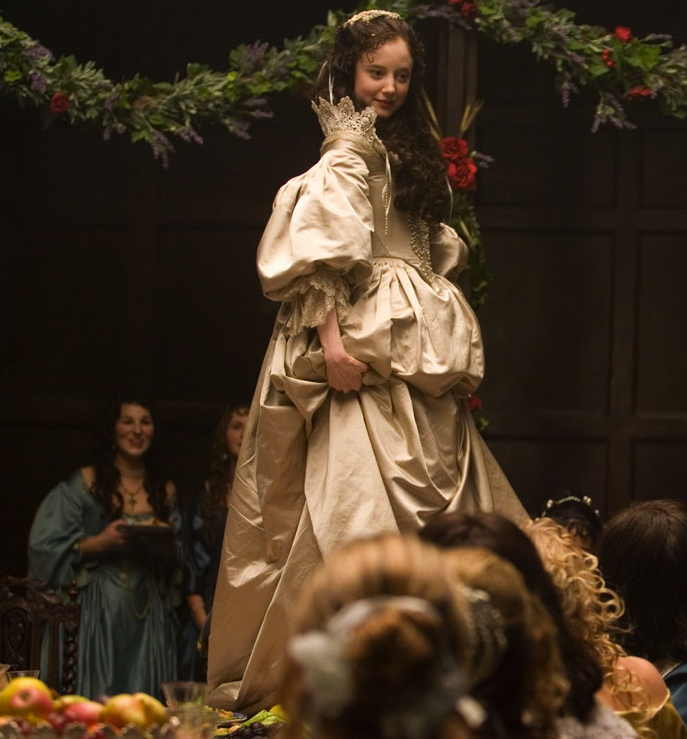 Andrea Riseborough as Angelica Fanshawe in 'The Devils Whore' miniseries 2008 (wedding dress)