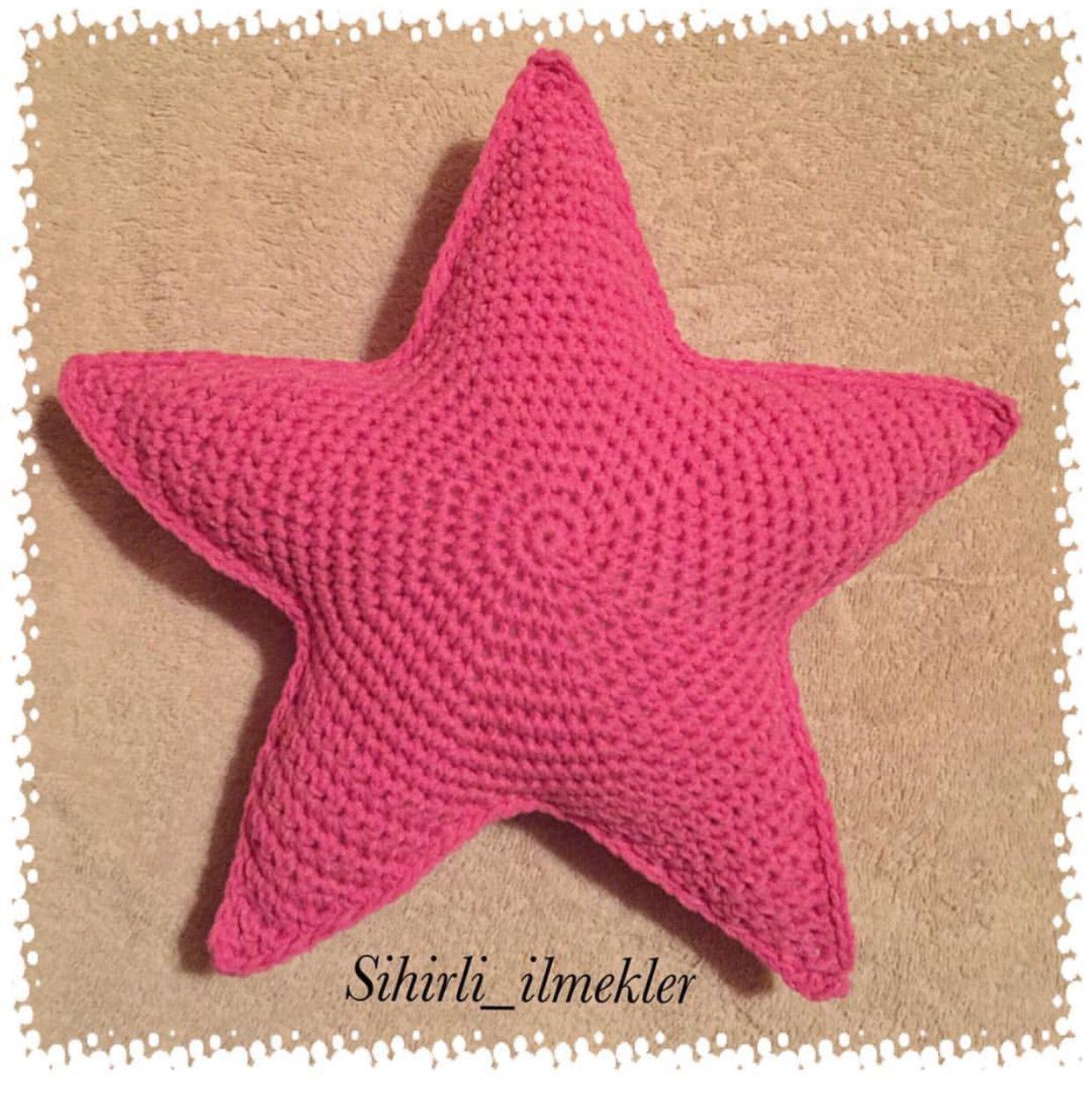 Yaseminkale: amigurumi yıldız yapılışı | 1245x1242