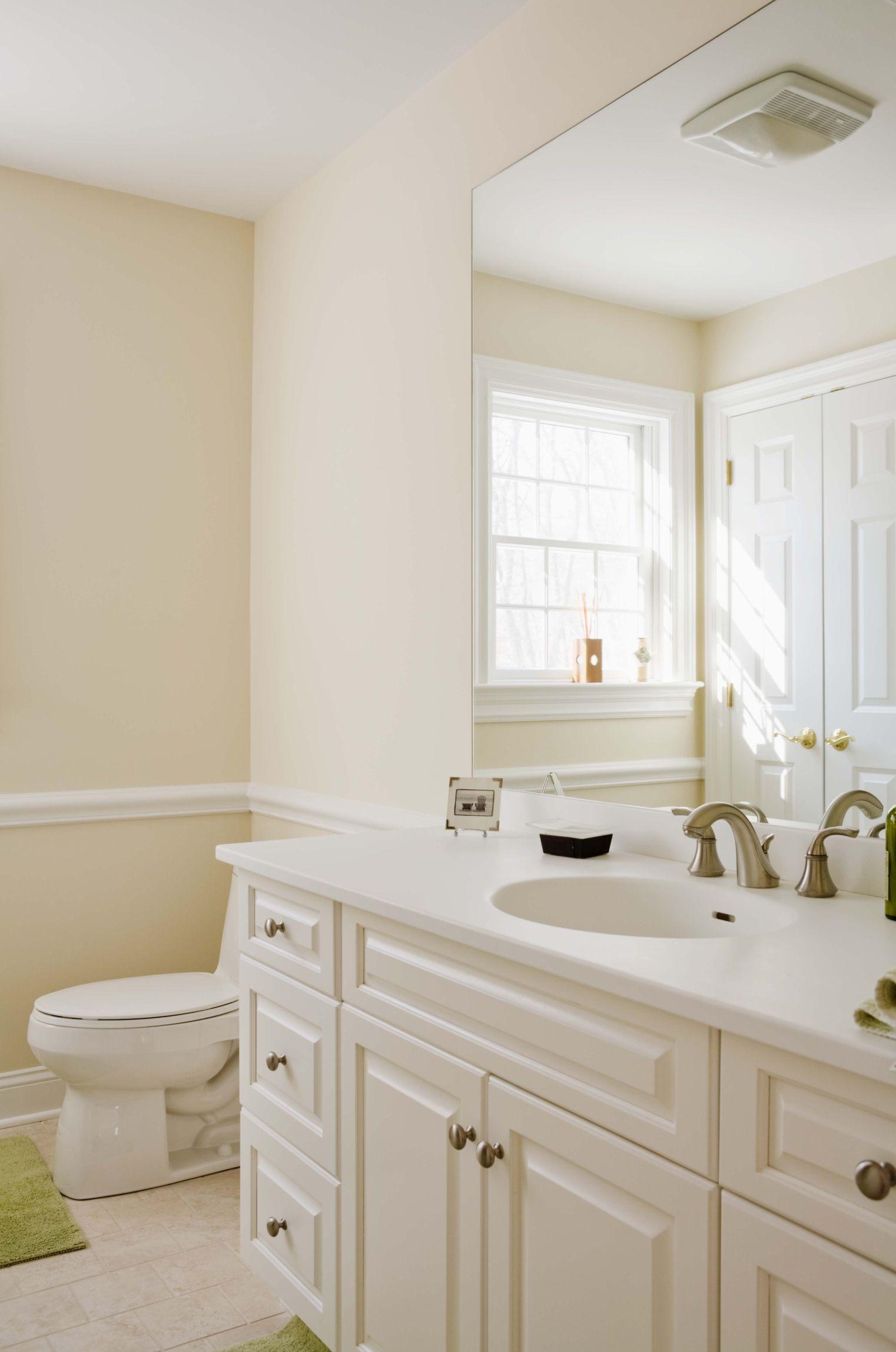 How To Fix Peeling Paint On The Bathroom Wall Ceiling Bathrooms Remodel Small Bathroom Remodel Trendy Bathroom