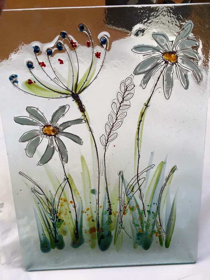 Wire    Glass fusing projects, Fused glass art, Fused glass