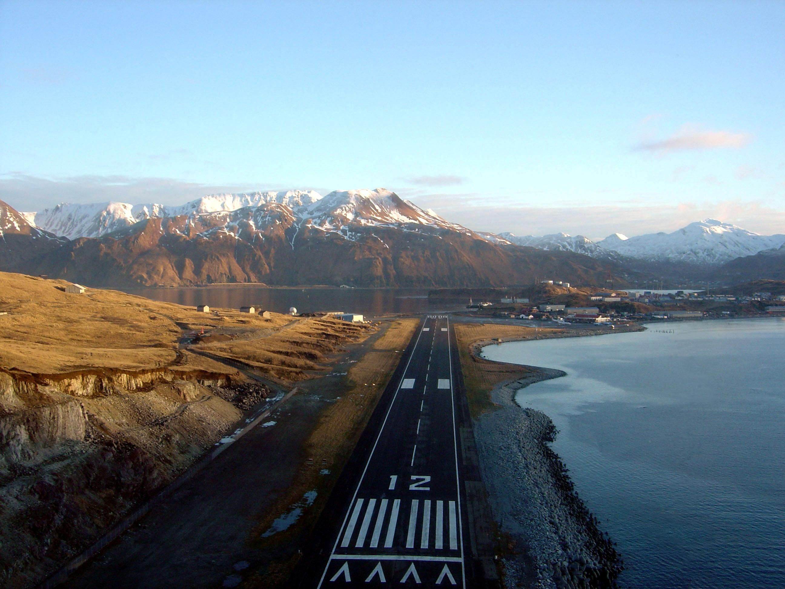 Grand aleutian dutch harbor alaska - Dut Unalaska Dutch Harbor Airport Alaska Usa