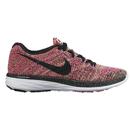 Nike Flyknit Lunar 3 / $149 / Colour: Ghost Green/Black/Pink Foil