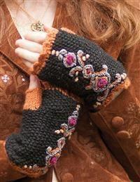 Wintergarden Woolen Fingerless Gloves