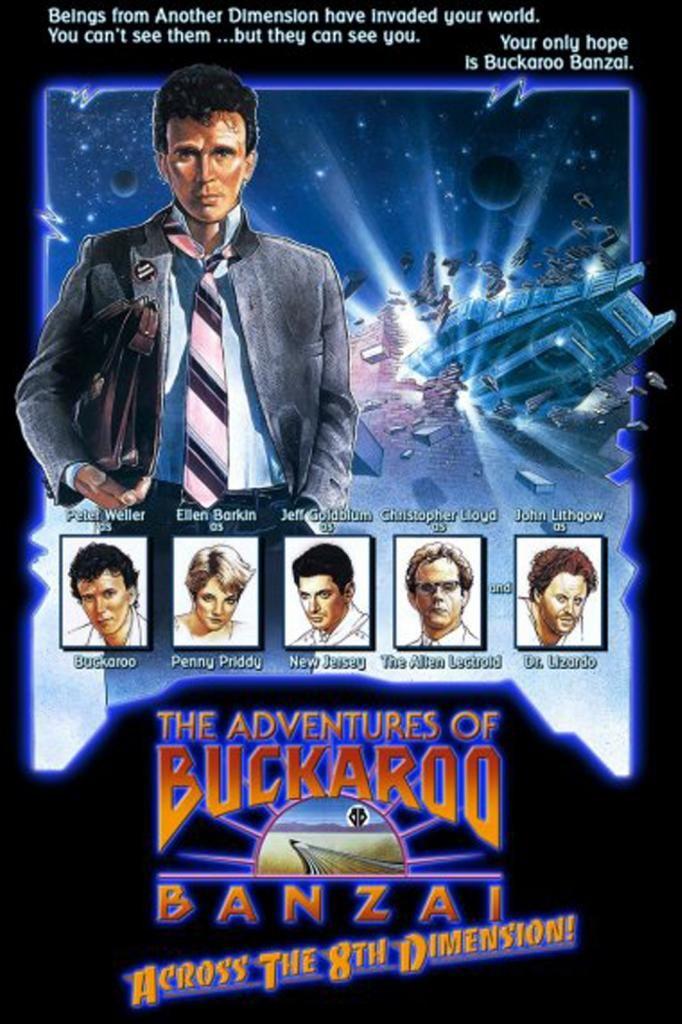 The Adventures Of Buckaroo Banzai Across The 8th Dimension 1984 Buckaroo Banzai Full Movies Online Free Buckaroo