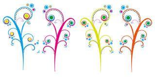 Resultado de imagen para arboles florales animados