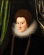Gemälde Margarete/Anna von Österreich Spanien Königin