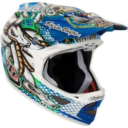 Troy Lee Designs Tld D3 D 3 Helmet Bicycle Bmx Medusa