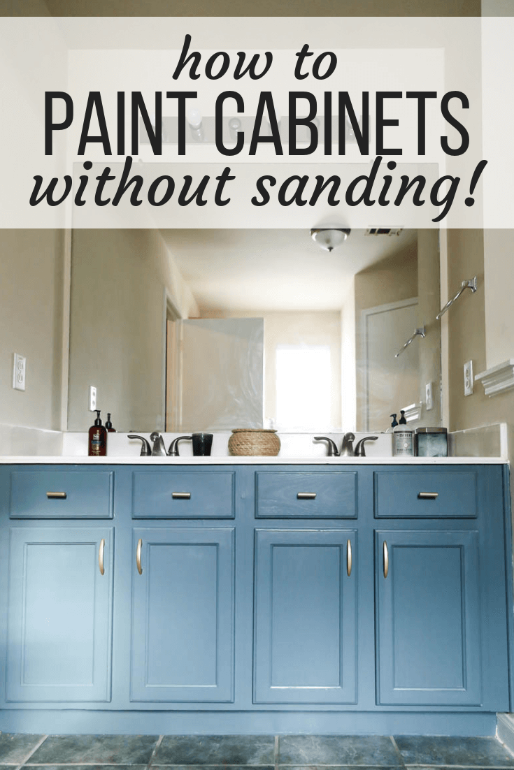 How To Paint A Vanity Using Rust Oleum S Cabinet