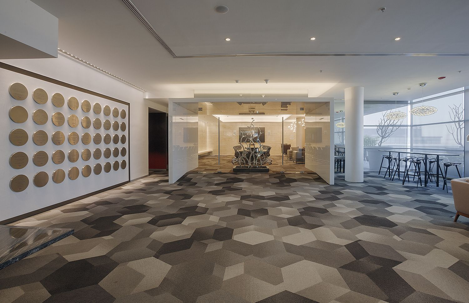 BMC Software - in Houston, TX #largeoffice #commercialspaces #commercialinteriors #design #flooring