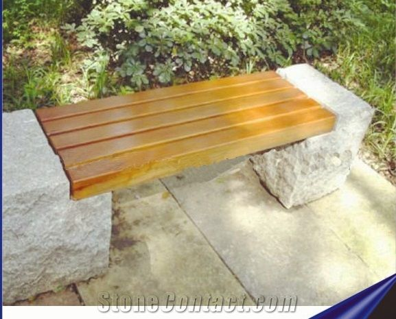 Stone and wood bench o2 pilates natural granite chairs support wooden stone bench china refine publicscrutiny Gallery