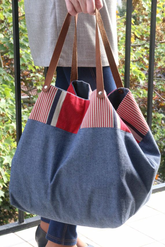 Cottonbagbeach Tote Bag Cottonbagbeach Baglarge Bag BagbeachJeans 45jL3AR