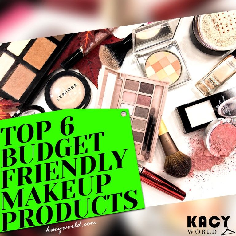 6 Budget Friendly Best Makeup Products For Beginners