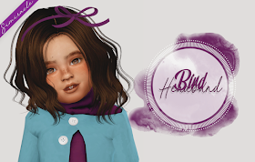 Sims 4 CC's - The Best: Toddlers & Kids Hair by Simiracle #kidshairaccessories