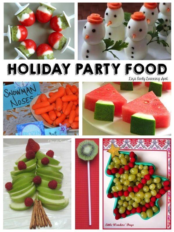 Preschool Christmas Party Food Ideas Part - 18: 10 Healthy Christmas Party Foods