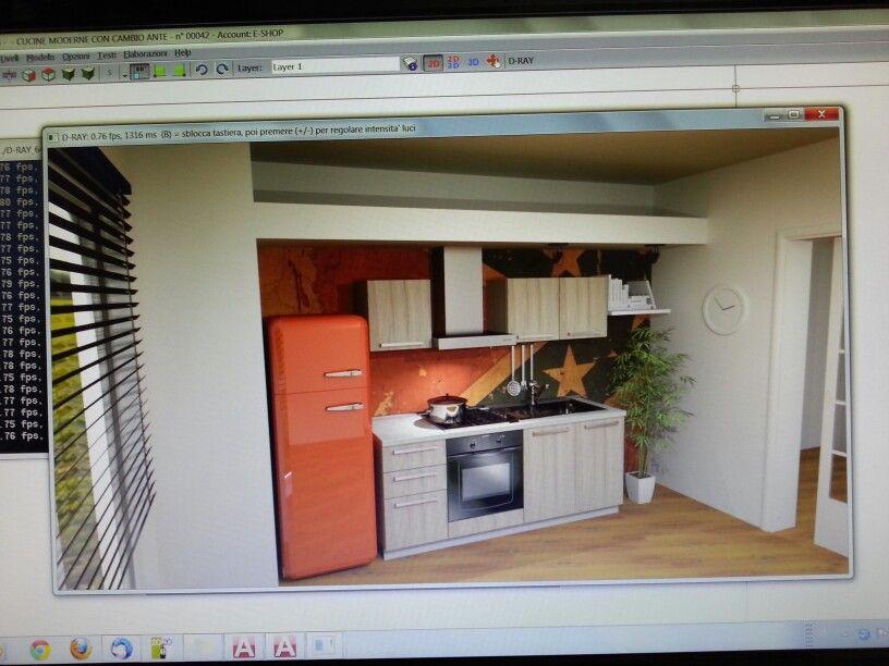 Prove di #rendering #fotorealistico in casa Outletarreda